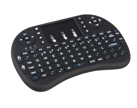 Wireless Keyboard + TouchPad Mouse For Raspberry Pi