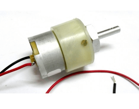 Geared Motor - 3.5 rpm and 6 rpm
