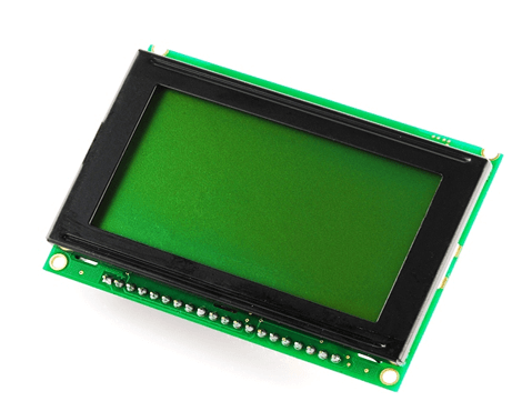 Graphic LCD Green - 128x64