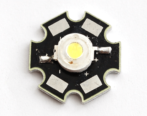 1 Watt LED with Heatsink