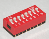 Dip Switch - 8 way