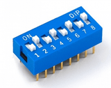 Dip Switch - 8 way-1