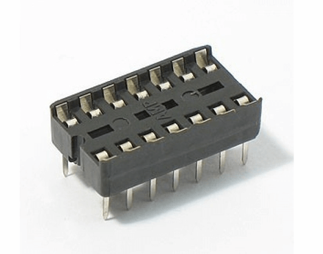 14 Pin IC Base DIP Socket