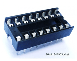 16 Pin IC Base DIP Socket