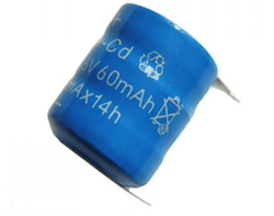 3.6V 60mAh PCB Mount Battery