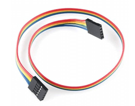 Jumper Wire - 5 Pin Double Sided Female Connector