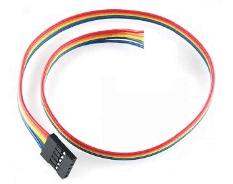 Jumper Wire - 5 Pin Single Sided Female Connector