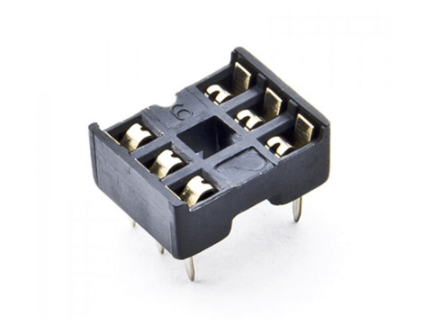 6 Pin IC Base DIP Socket