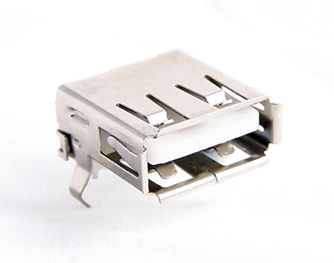 USB Female A Type Connector