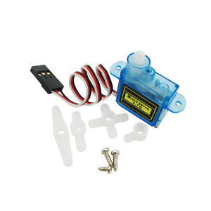 3.7g Micro Servo Motor for RC Plane, RC Heli, RC Car and RC Boat - Techtonics