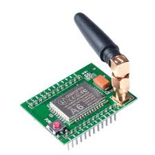 A6 GSM GPRS Module Quad Band SMS Voice 850/900/1800/1900 with Antenna - Techtonics