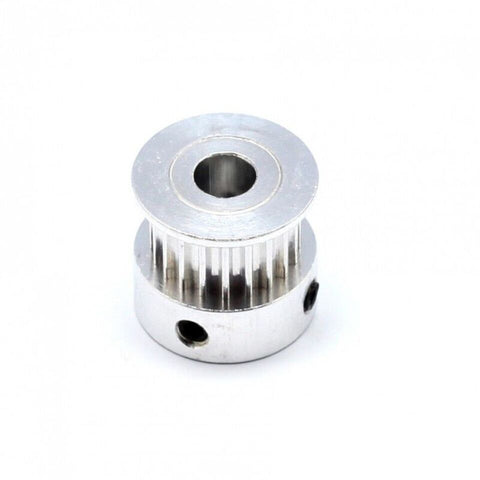 GT2 20 tooth bore 6.35mm width 10mm pulley - Techtonics