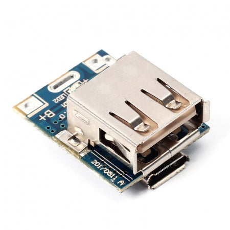 5V Step-Up Power Module Lithium Battery Charging Protection Board USB For DIY Charger 134N3P - Techtonics