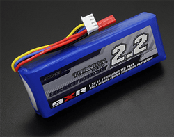 Turnigy 9XR Safety Protected 11.1V 3S 2200MAH 1.5C Transmitter LiPo Pack