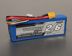 Turnigy 2650mAh 4S 20C 14.8V LiPo Battery