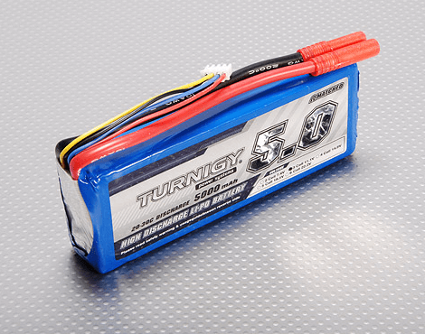 Turnigy 5000mAh 3S 20C 11.1V LiPo Battery