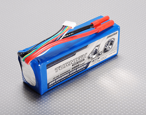 Turnigy 4000mAh 6S 20C 22.2V LiPo Battery
