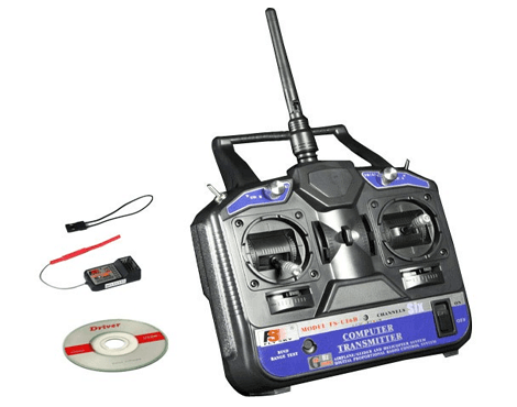 2.4GHz FlySky 6-Channel Transmitter + Receiver CT6B