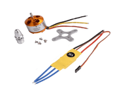 Brushless Motor 2300kV + Electronic Speed Control ESC 30A