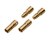 3.5 mm Male and Female Gold Plated Bullet Connector