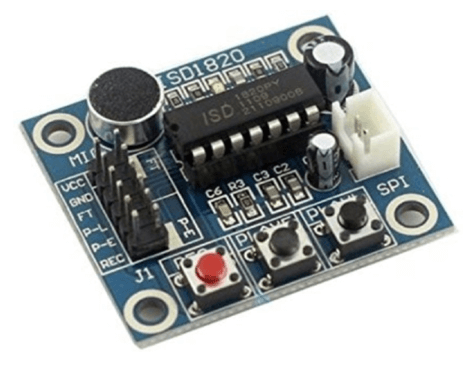 Sound/Voice Recording Board - ISD1820