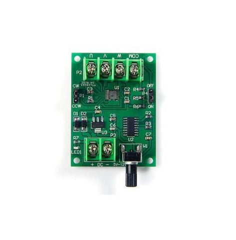 5V-12V DC Brushless Motor Driver Board Controller for Hard Drive Motor 1.8A Max - Techtonics