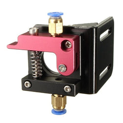 3D Printer Parts Makerbot MK8 Full Metal Aluminum Alloy Bowden Extruder for 1.75MM filament with L Bracket Mount left hand
