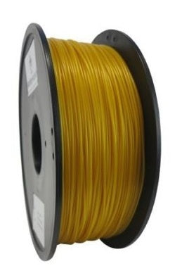 Wanhao Gold PLA 1.75 mm 1 KG Filament for 3d printer - Premium Quality - Techtonics