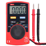 UT120C Pocket Size Digital Multimeter AC DC Voltmeter Ammeter - Techtonics