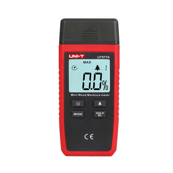 Uni-T UT377A Digital Wood Moisture Meter Paper Wooden Materials Humidity Tester LCD Display Hygrometer