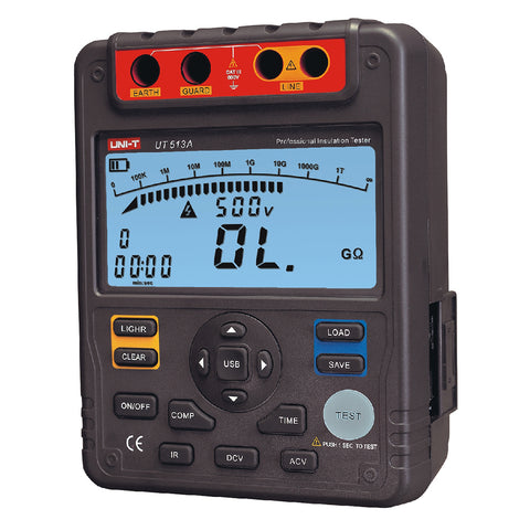 Uni-T UT 513A- 5 Kv Digital Insulation Tester