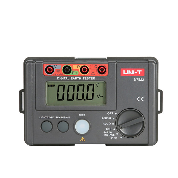 Uni-T UT522 Earth Ground Resistance Voltage Tester 4000 Ω 400 V AC
