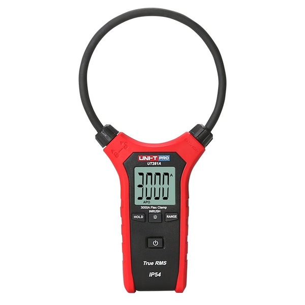 Uni-T UT281A Smart AC Digital Flexible Clamp Meter Multimeter Handheld Voltage Current Resistance Frequency