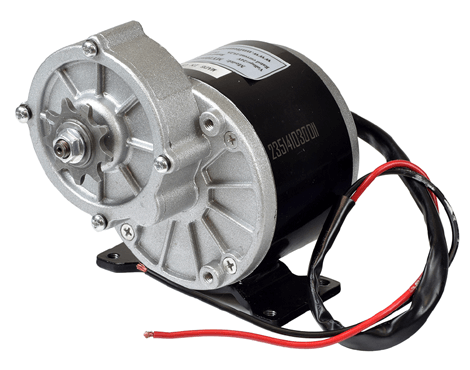 MY1016Z3 350W 24V Geared Motor for E-Bike, Electric Tricycle ,Electric Motor