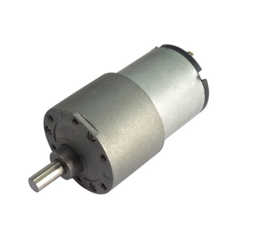12v DC Gear, Geared Offside Motor 100 rpm High Torque -Off Side Shaft