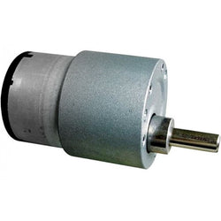 10 RPM Johnson Gear DC Motor 12V For Robotics