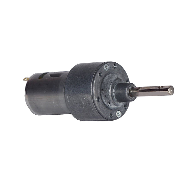 12v DC Johnson Side Shaft Gear, Geared Motor- B Grade (150 rpm, 11kgcm torque)