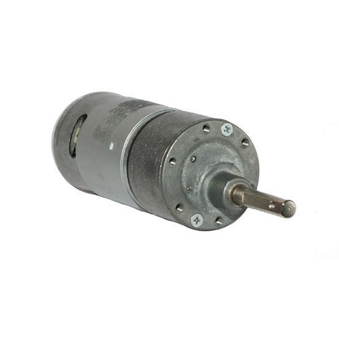 12v DC RS-37-555 Side Shaft Gear, Geared Motor - 60 rpm - Techtonics