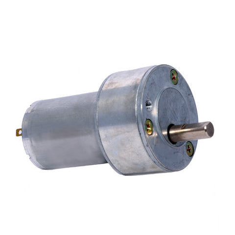12v DC RS-50-555 Gear / Geared Motor 200 RPM - High Torque - Techtonics