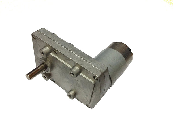 12v DC Square Gear / Geared Motor 150 RPM - High Torque