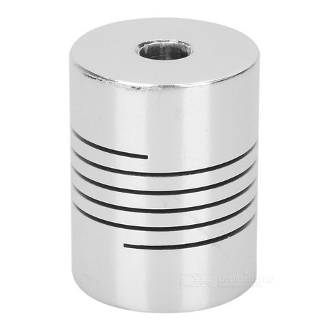 ALUMINIUM FLEXIBLE SHAFT COUPLING 5MM X 5MM - Techtonics