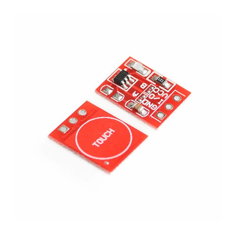Red TTP223 Touch button Module Capacitor type Single Channel Touch Sensor