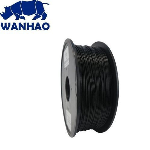 Wanhao 3D Printer Filament - Black 1.75 mm PLA Filament - Premium Quality - Techtonics