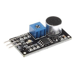 Sound Detection Sensor Module LM393 Chip Electret Microphone For Arduino - Techtonics