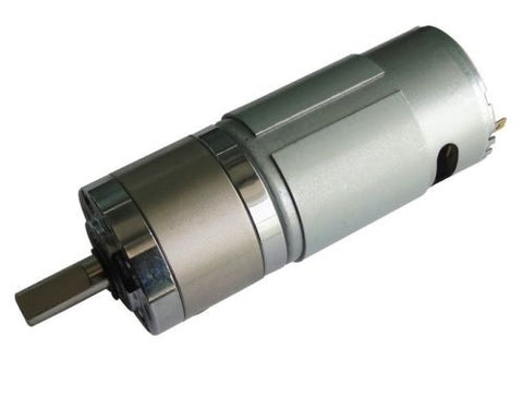 Tauren Planetary Gear DC Motor Series 500 - 350 rpm - Techtonics