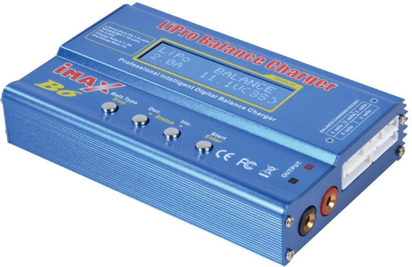 IMAX B6-AC Lipo NiMH Battery Charger/Discharger 1-6 Cells