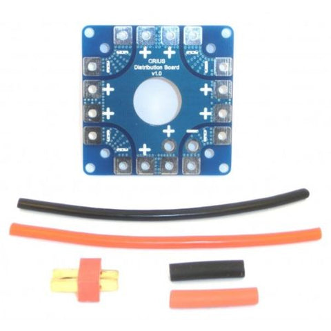 Multi-Axis Copter Power Battery ESC Connection Board Distribution Board - Techtonics