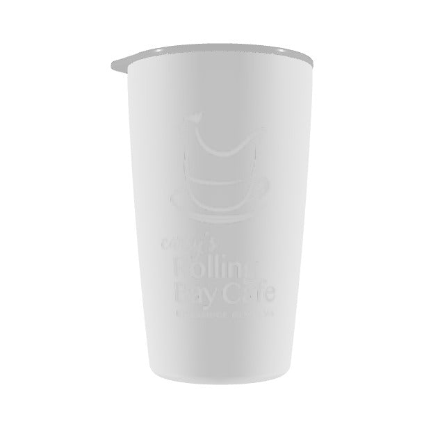 Carly's Rolling Bay - White 12oz Tumbler