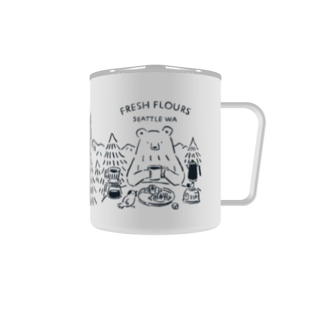Fresh Flours White Camp Mug