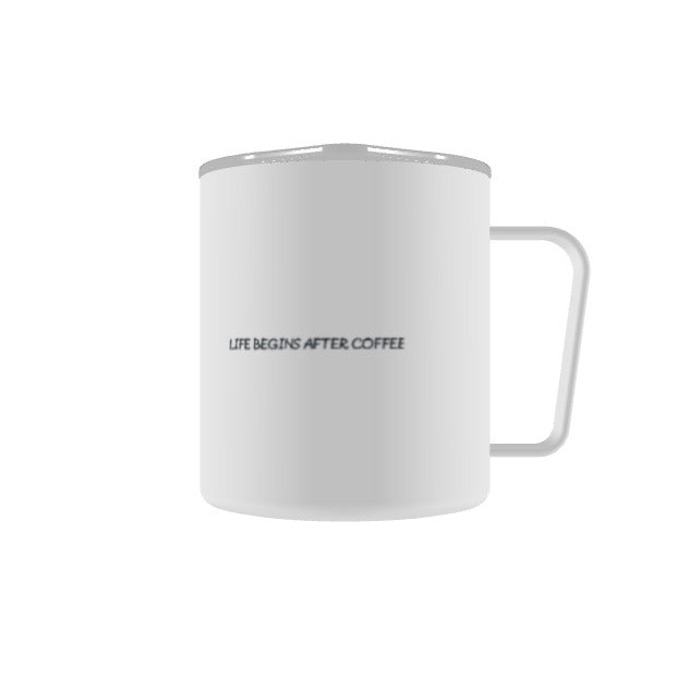 West Mountain Coffee camp cup